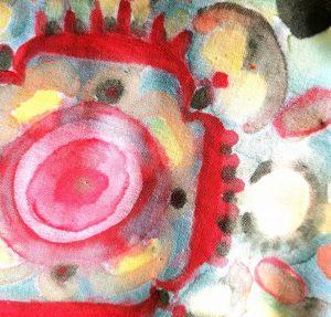 Esserenza Pillows Mandala rosso dettaglio