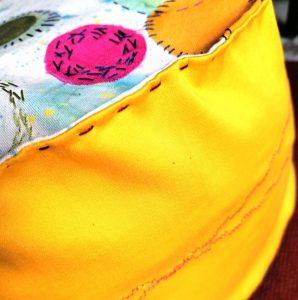 Esserenza pillows Bolle dettagli laterali